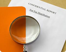 Documents - Confidential Report